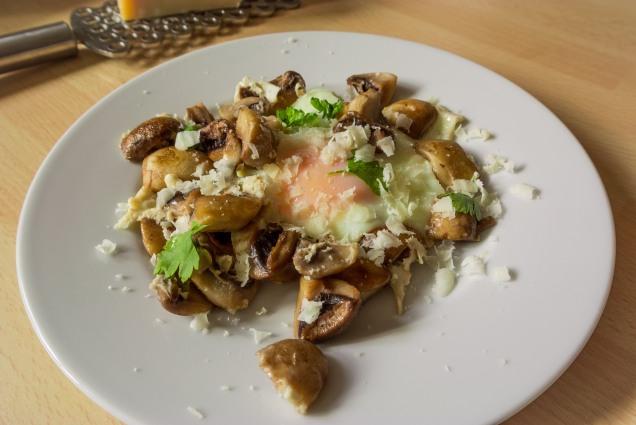 Mushroom eggs