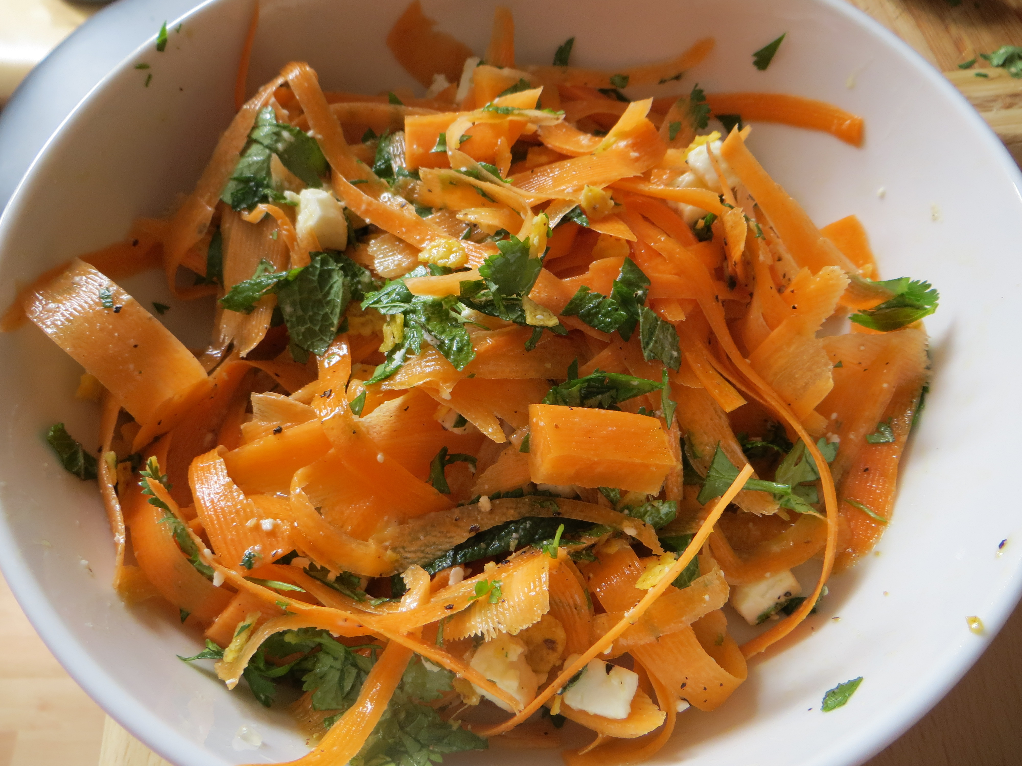 Jamie Oliver S Evolution Carrot Salad Made With Love
