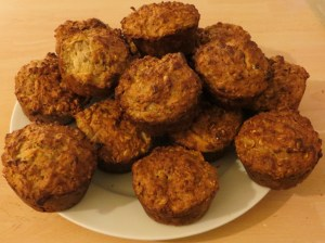 Finished muffins.