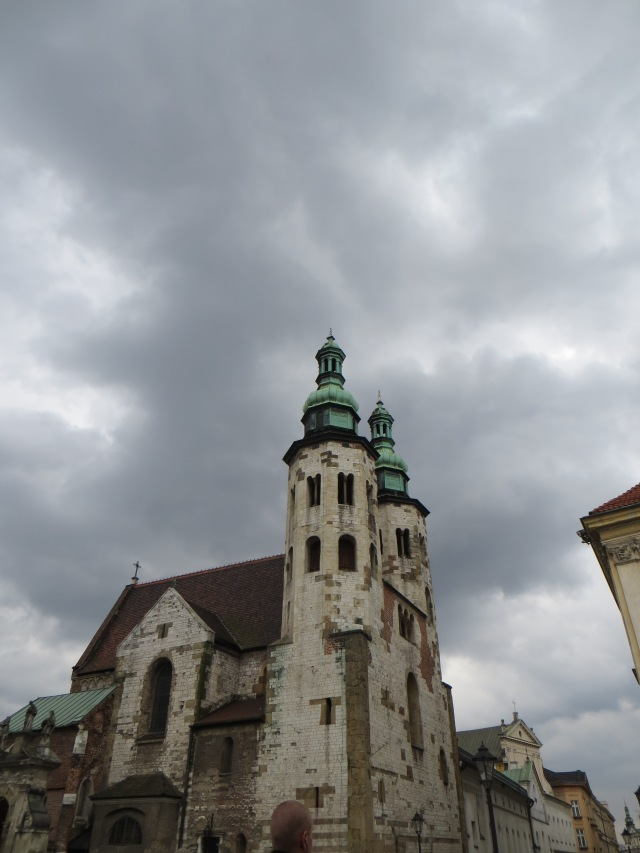 Church I liked in Krakow