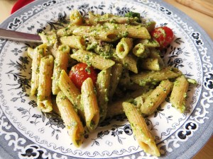 Wild garlic & pumpkin seed pesto
