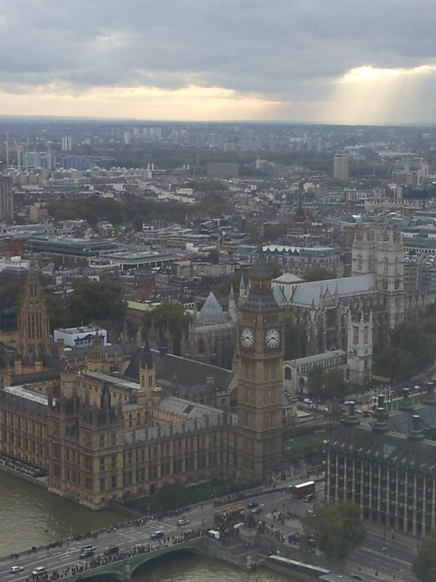 Big Ben & Parliament from the Eye!