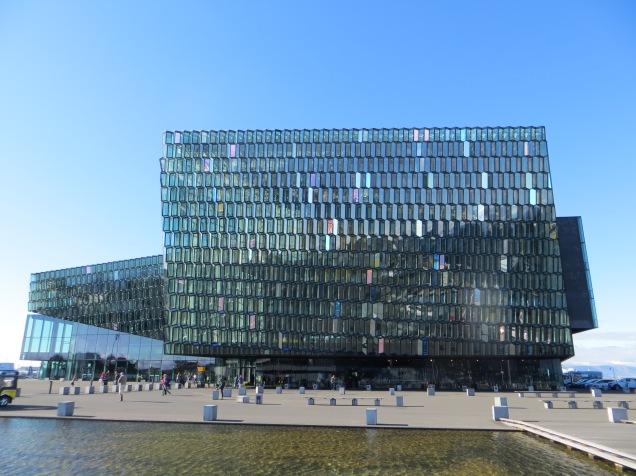 Harpa, Reykjavik's concert venue