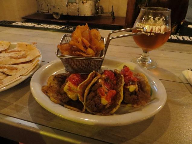 Treylor Park tacos!